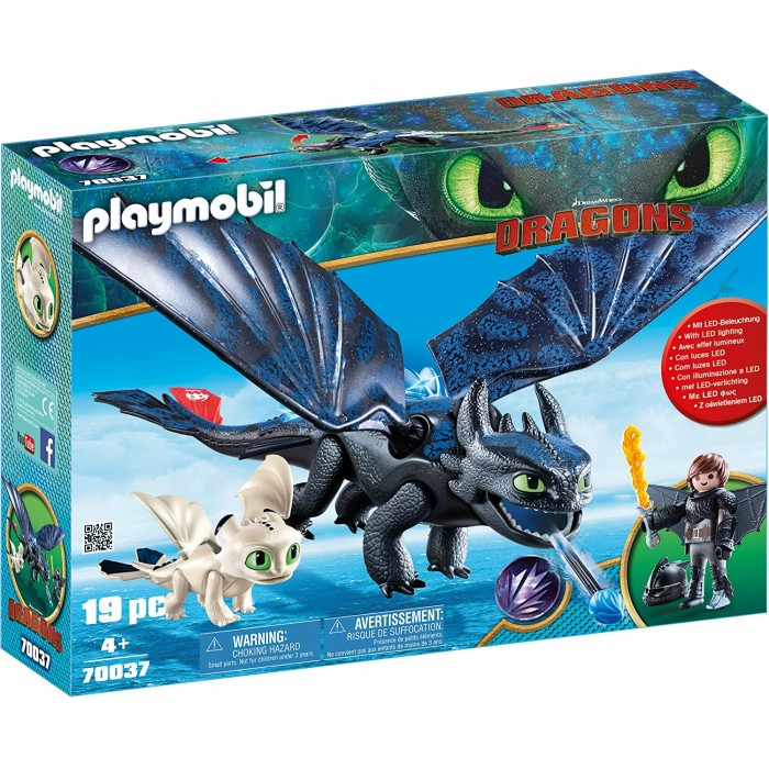 Playmobil 70037 Dragons, Hiccup and Toothless Playmobil