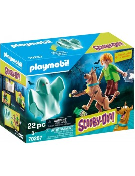 Playmobil 70287 Scooby and Shaggy with Ghost Playmobil