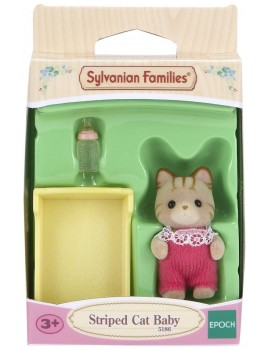 Sylvanian Families Striped Cat Baby Sylvanian