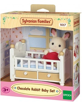Sylvanian chocolate rabbit baby set Sylvanian