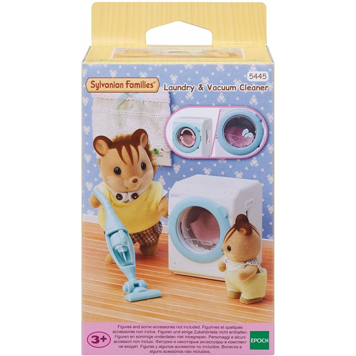 Sylvanian Families Laundry and Vacuum Cleaner Sylvanian