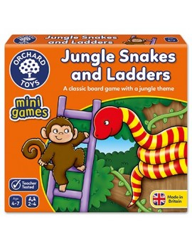 Orchard Jungle Snakes & Ladders Mini Game Games & Jigsaws