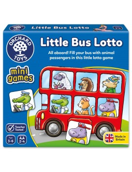 Orchard Little Bus Lotto Mini Game Games & Jigsaws