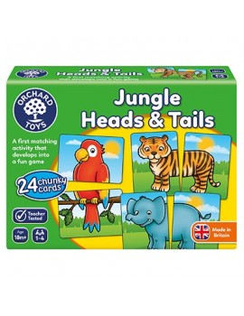 Orchard Jungle Heads & Tails Game Games & Jigsaws
