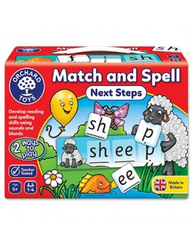 Orchard Match and Spell Next Steps Game Games & Jigsaws