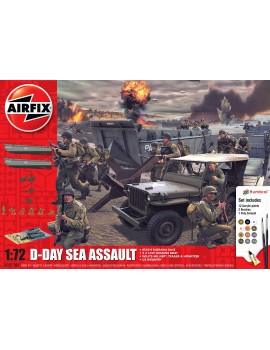 Airfix D-Day Operation Overlord Set Toys