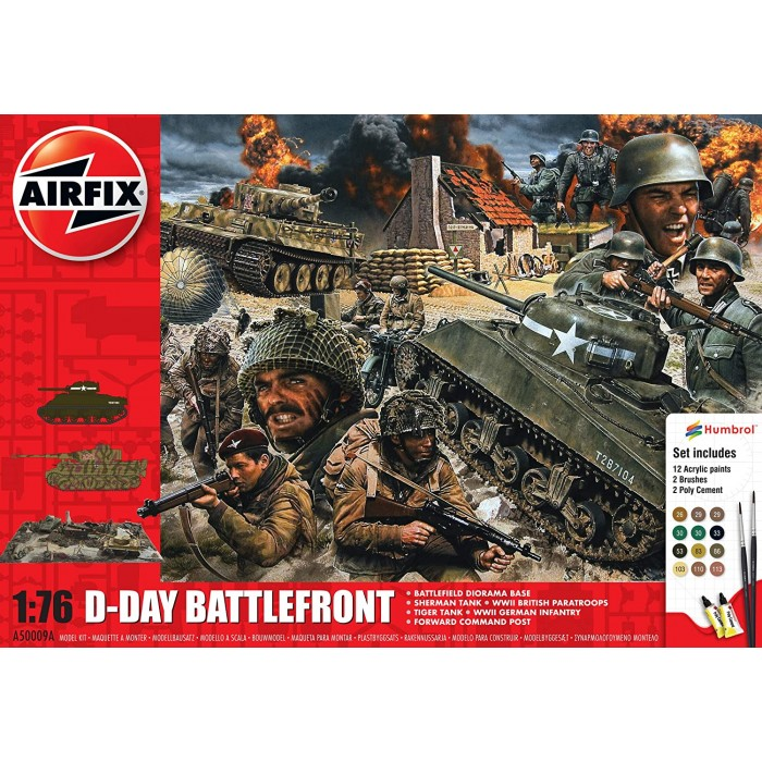 Airfix D-Day Battlefront Gift Set Toys