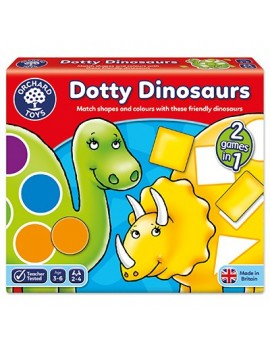 Orchard Dotty Dinosaurs Game Games & Jigsaws