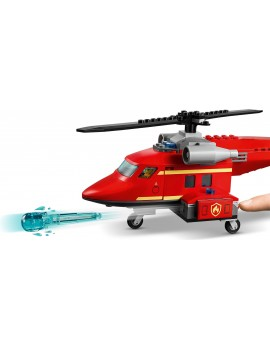 Lego City Fire Rescue Helicopter Lego