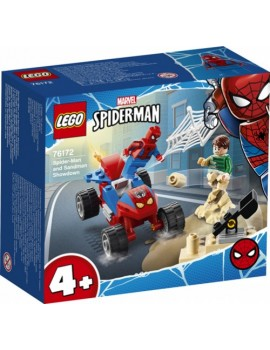 Lego Spider-Man and Sandman Showdown Lego