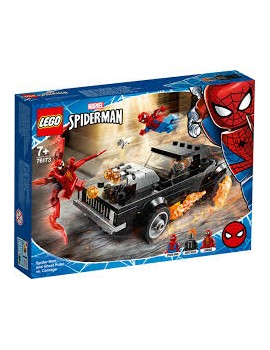 Lego Spider-Man and Ghost Rider vs. Carnage Lego