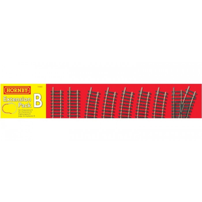 Hornby Track Extension Pack B Track & Accessories
