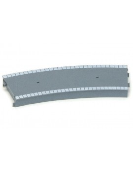 Hornby Large Radius Curved Platform Section (Plastic) Track &