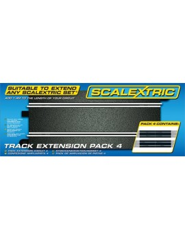 Scalextric Track Extension Pack 4 Track & Spares