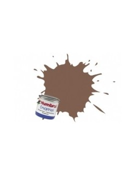 186 Brown Matt - 14ml Enamel Paint