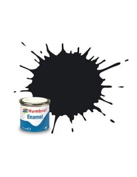 201 Black Metallic - 14ml Enamel Paint