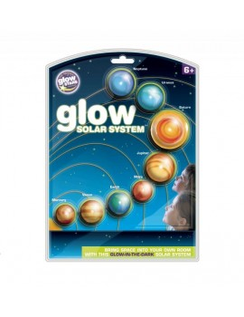 Brainstorm Glow Solar System Science Kits