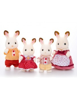 Sylvanian Families Chocolate Rabbit Family Sylvanian
