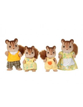 Sylvanian Families Walnut Squirrel Family Sylvanian