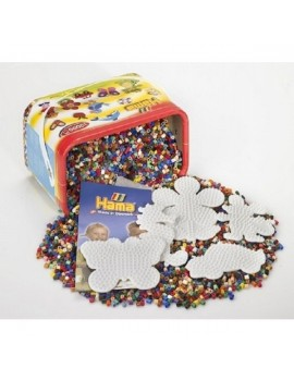 Hama 10,000 Beads & Pegboards in Tub Craft